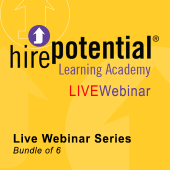 LIVE Webinar Series bundle of 6