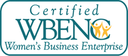 certified WBENC logo for Women's Business Enterprise